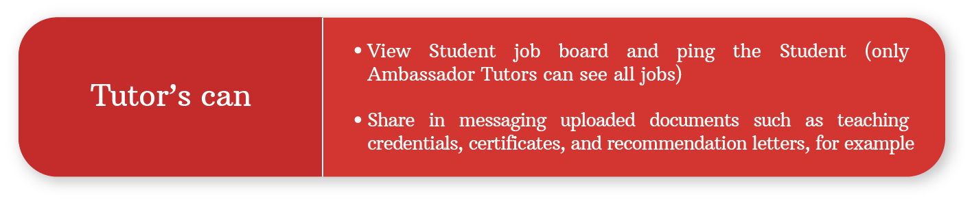 Tutor Around app doesn't charge commission fees! Students and Tutors save since we are not an agency!