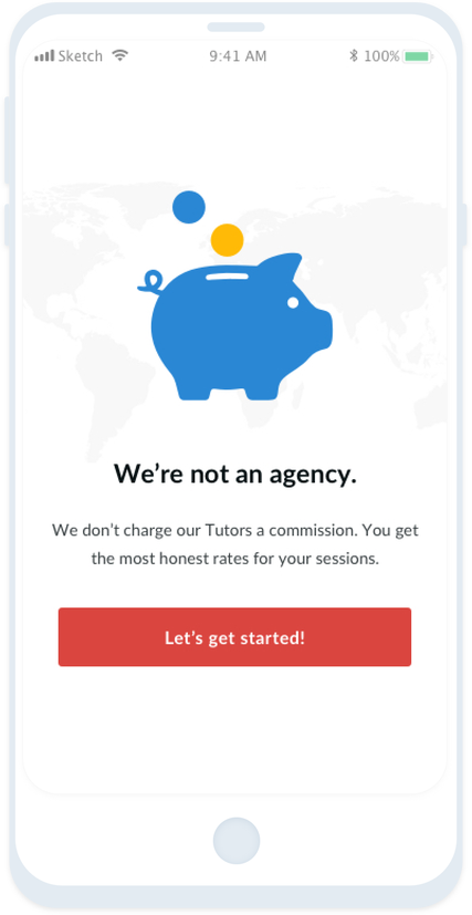 Find a Tutor with Tutor Around and never pay agency commissions!