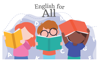 Get an English tutor for all ages on our Tutor Around app!