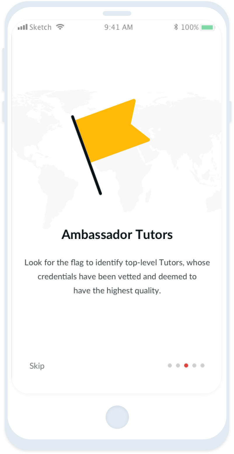 Find experienced Tutors with the Tutor Around app!